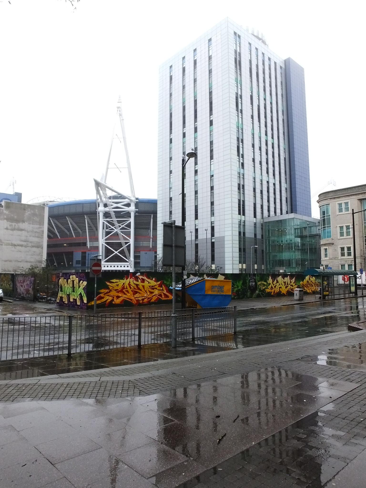 Street art, Park Street Cardiff