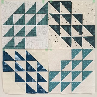 6. Four finished blocks :)