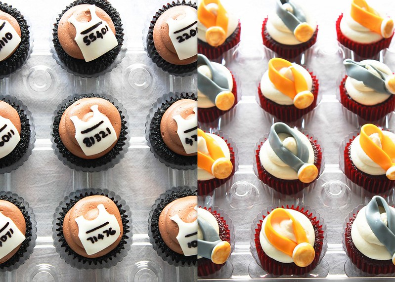 Themed Cupcakes - Biking