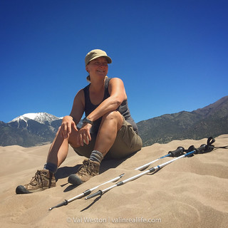 great sand dunes national park - val in real life