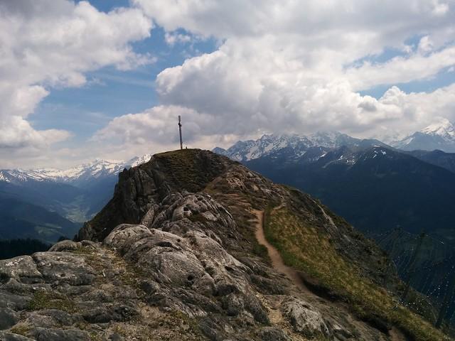 Die letzten Meter zum Schönberg-Gipfel