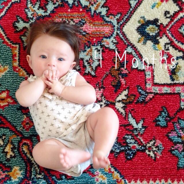 Elle Evergreen: 4 months