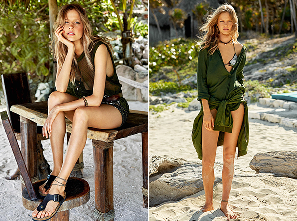 Glamour France August 2015 - Khaki Fashion