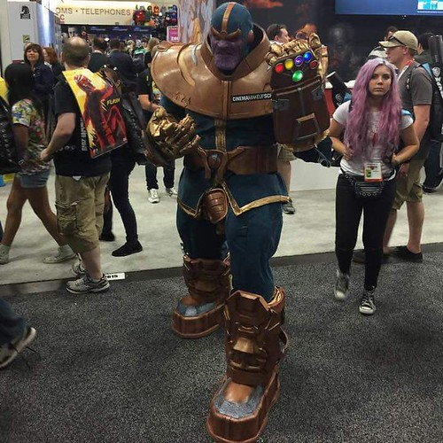 San Diego Comic-Con 2015 Cosplay - Infinity Gauntlet Thanos