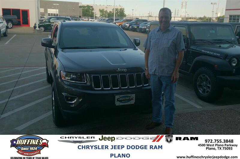Congratulations To Rickey Terrill On Your Jeep Grand Che