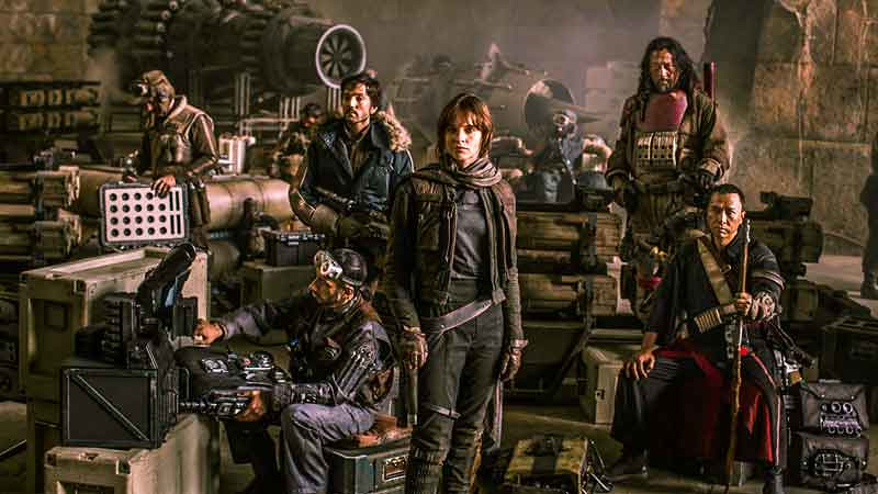 Star Wars Rogue One Crew