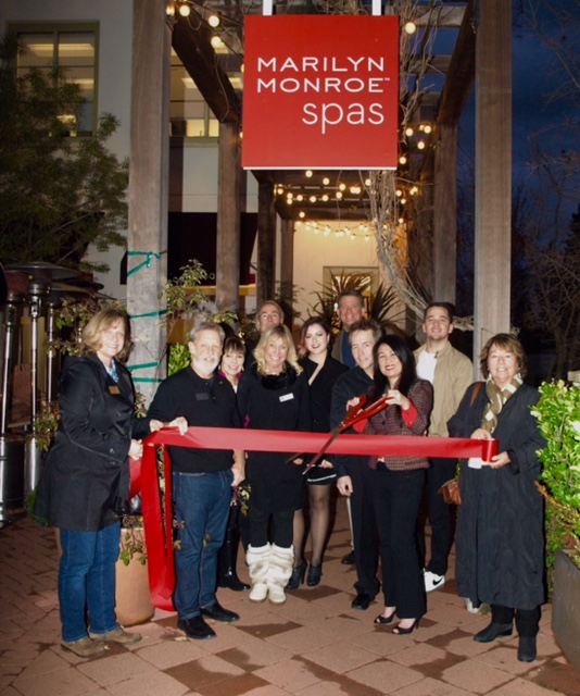 January 12, 2017 - Ribbon Cutting Marilyn Monroe Spa