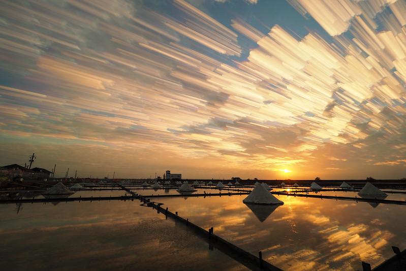 Sunset dusk|瓦盤鹽田