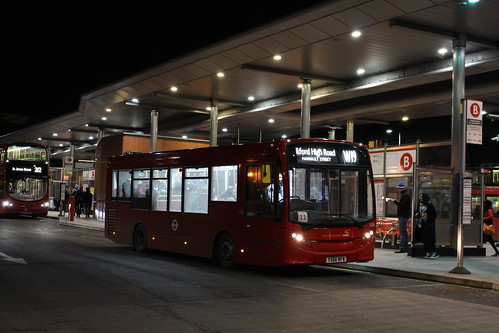 CT Plus 1225 on Route W19, Walthamstow Central Bus Station
