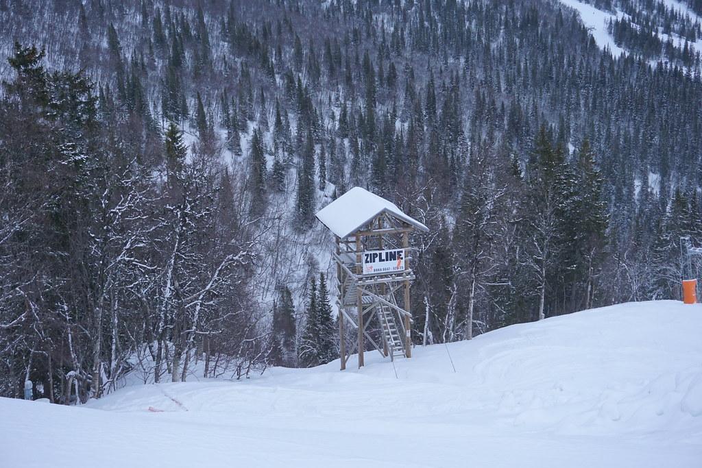 Adrenalinkick - ZipLine i Åre torn