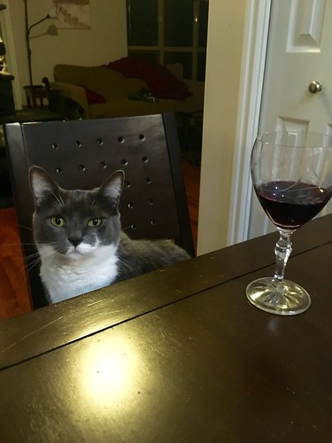 Crick is my dinner companion