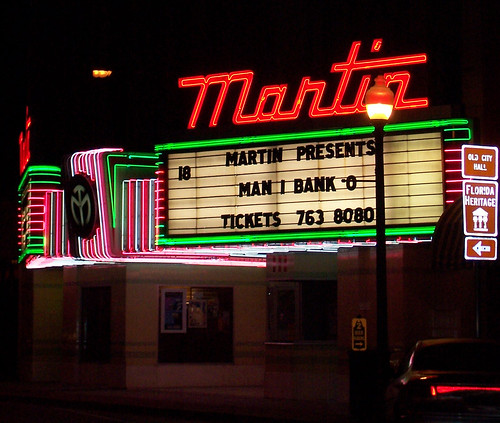 Martin Theatre at Night | by getthebubbles