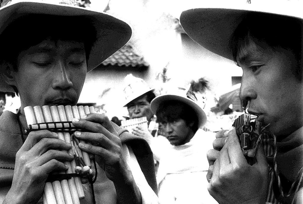 Carnival in Oruro, Bolivia, 1994   by Marcelo  Montecino