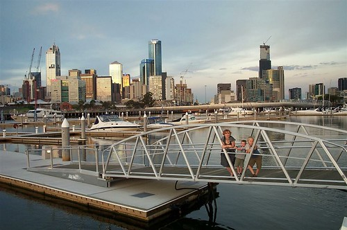 Melbourne city across YE marina | by Pedronet