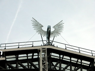 Things on rooftops: nr. 4  Winged Wheel | by Michiel2005