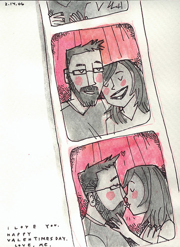 Photobooth Friday: Valentine's Day Card | by wardomatic