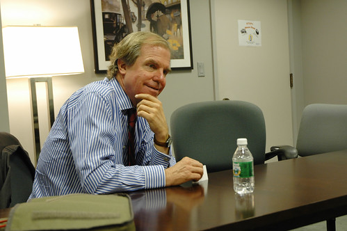 Nicholas Negroponte visits our office | by curiouslee