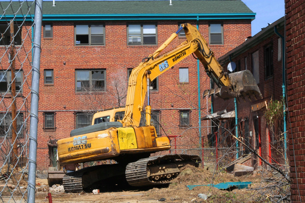 demolition cc se demolition begins at capper. Black Bedroom Furniture Sets. Home Design Ideas