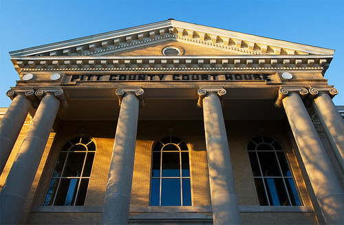 Pitt County Court House | by mclgreenville / memorymotel