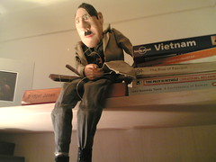 yes this really is a marionette of hitler | by Katy Lindemann