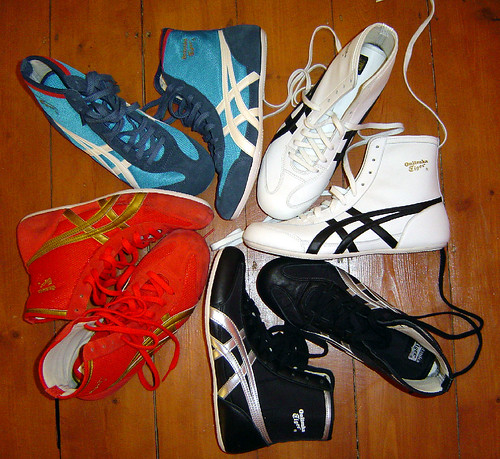 100% authentic b5641 f47e5 onitsuka tiger 81 wrestling shoes