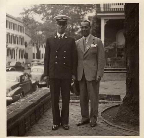 Father and Son - Vintage Navy Photo | by Tobyotter