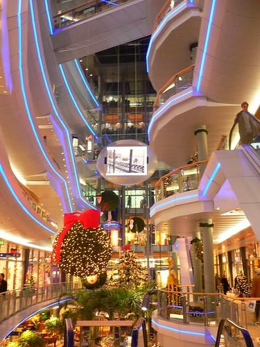 Du00fcsseldorf Futuristic Shopping Architecture   Shopping Area U2026   Flickr