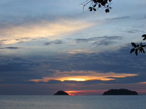 sunset at Ko Chang | by derekb