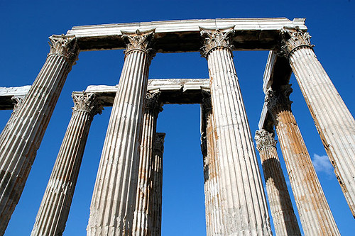 The Temple of Olympian Zeus | by caribb