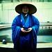 Monk Outside The Met