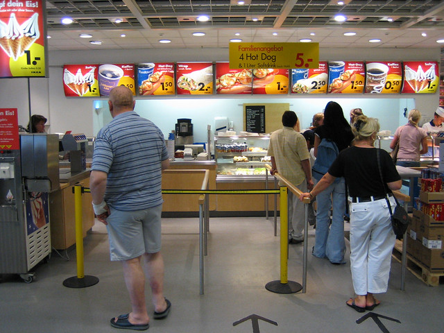 ikea hot dog stand keksofant ann kathrin koch flickr. Black Bedroom Furniture Sets. Home Design Ideas