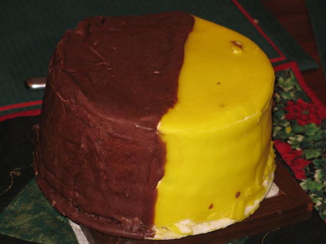 Chocolate Lemon Doberge Cake From Gambinos Bakery New Orleans