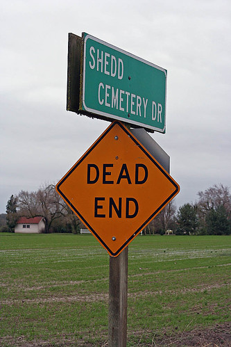 cemetery sign | by Slideshow Bruce