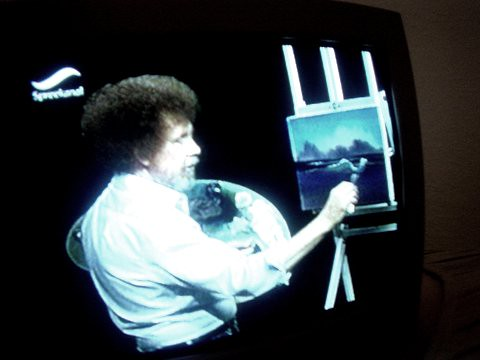 Bob Ross in realtime - pic 12 | by nosedef