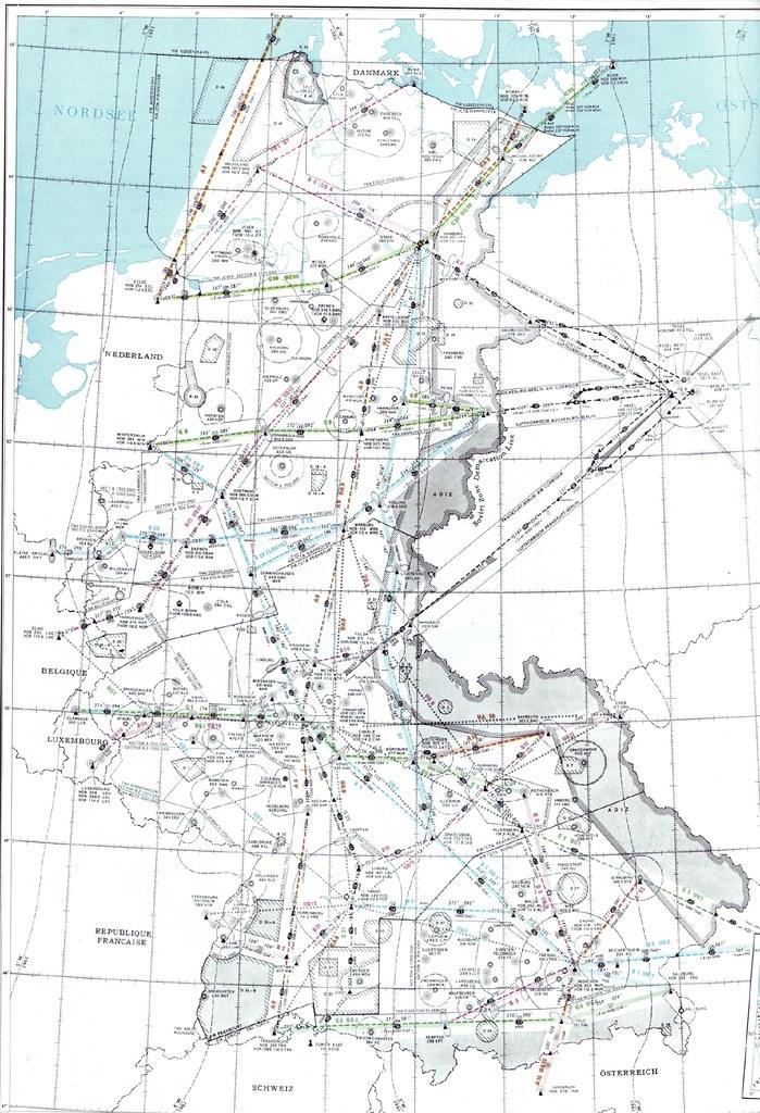Flight Map Germany 60 Mario Klingemann Flickr Adorable Flight Pattern Map
