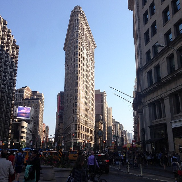 The Famous Little Bitty Triangle Building In New York Lat