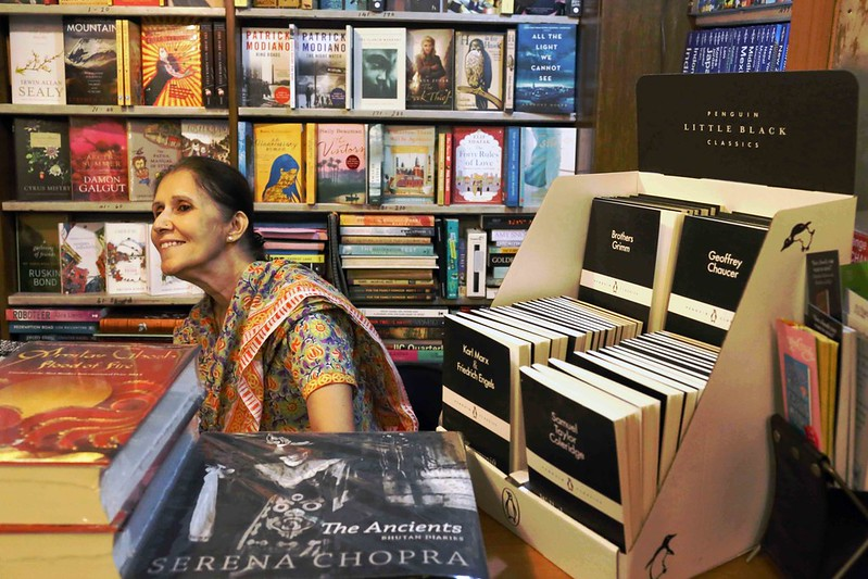 A Portrait of the Bookseller as a Charming Woman