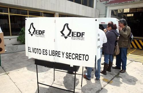IEDF tendrá resultados a las 23 horas del 7 de junio