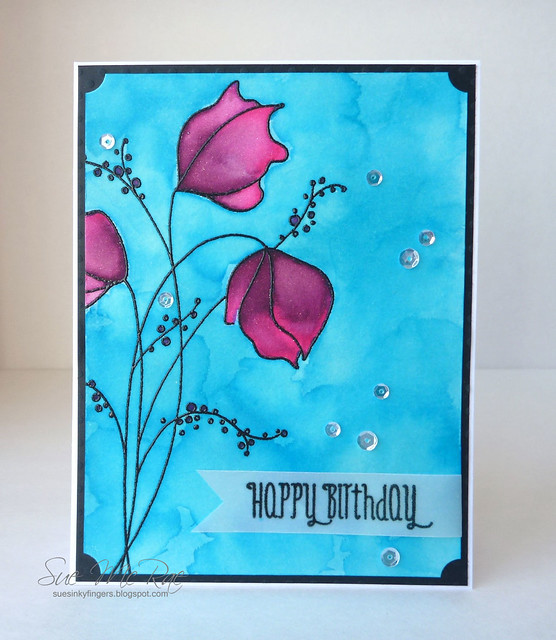 Watercolour Happy Birthday
