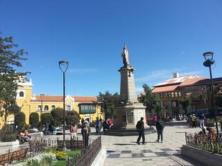 Potosi plaza 10 noviembre