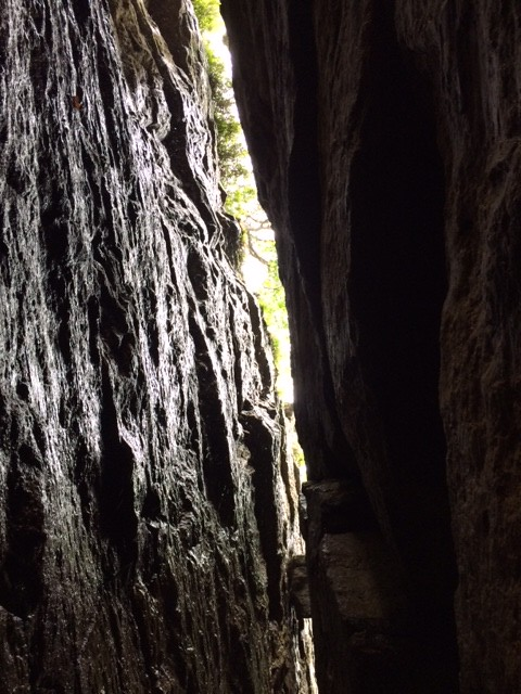 Mohonk_Crevice