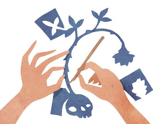 Illustration Friday: Sharp