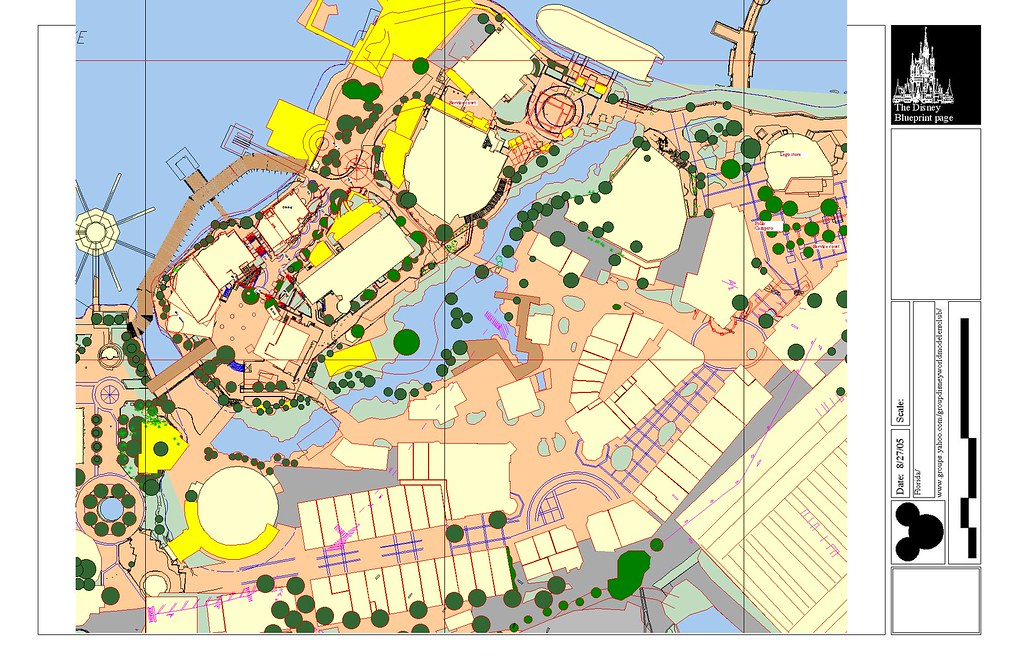 Disney Springs I Recently Got A Plan Of The Construction