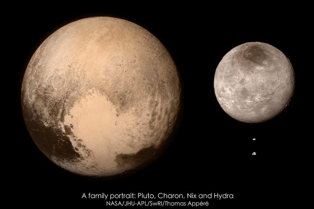 Wykluczona planeta- Pluton, tragiczny bohater kosmicznej sagi.
