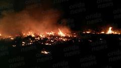 incendio deposito gomme eboli 03