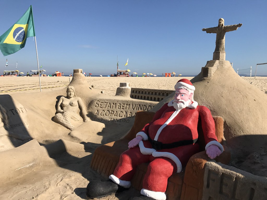 merry summer christmas from the southern hemisphere by leandros world tour - Summer Christmas