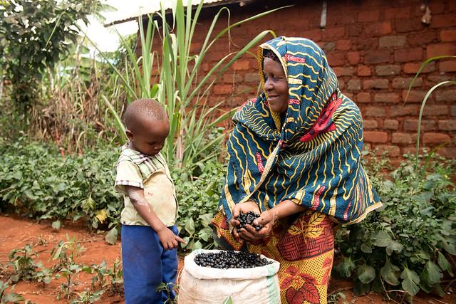 Nutrition from a Home Garden in Tanzania