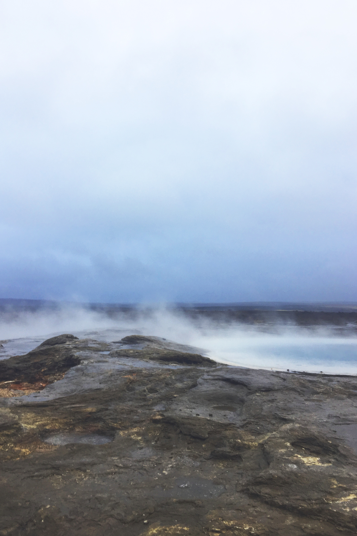 geysir pools