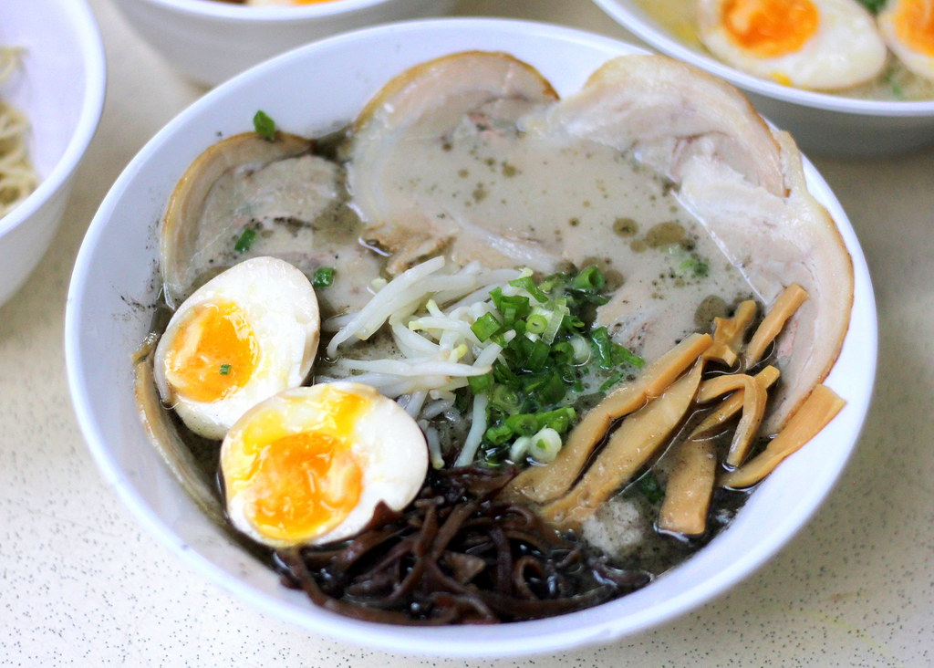 Ramen In Singapore: Ramen Black Tonkotsu