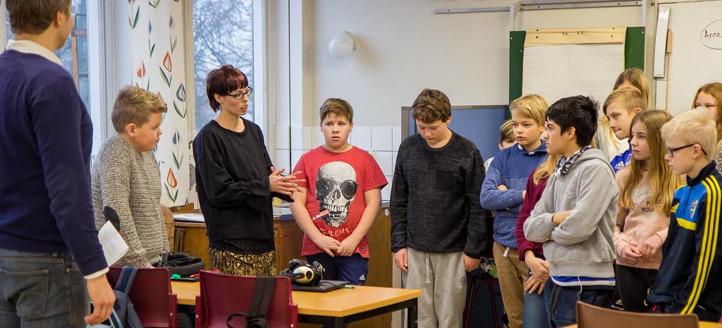 Arbetsmarknadskunskap iåk 6 på Gärsnäs skola Rektor Chris u2026 Flickr